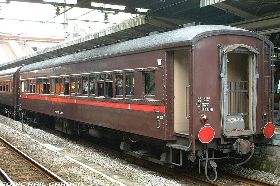 座席探訪 JR東日本 旧型客車スハ...