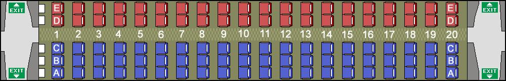 座席探訪 N700系7000番台/8000番台 山陽・九州新幹線「みずほ」「さくら」「つばめ」座席図 シートマップ