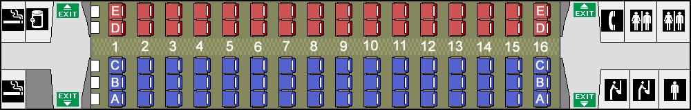 ź�席探訪 N700系7000番台 8000番台 ű�陽・九州新幹線「みずほ」「さくら」「つばめ」座席図 Â�ートマップ